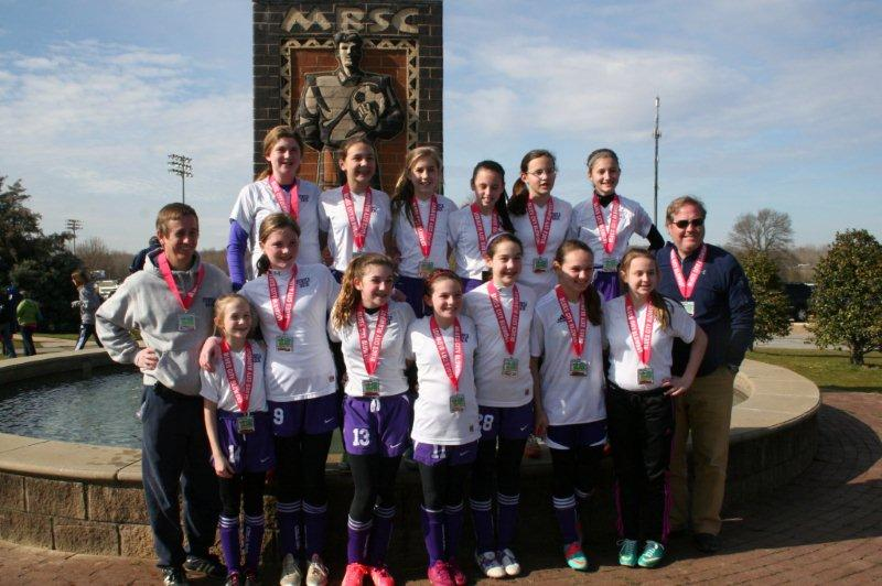 Purple Rain 2000 Select Are Finalists in Blues City Blowout Tournament