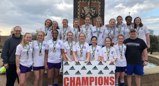 Purple Rain 2004 White are Champions at the 2018 Blues City Blowout